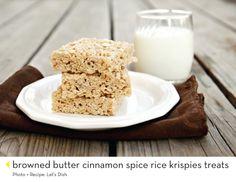 Yummy rice krispie treats!