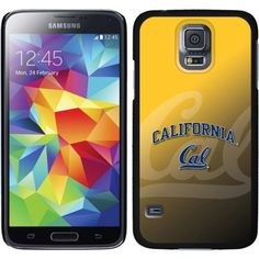 UC Berkeley Cal Watermark Yellow Design on Samsung Galaxy S5 Thinshield Case by Coveroo