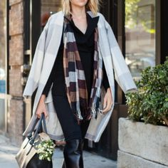 Winter duster shades of gray Winter duster shades of gray Adam Lippes Sweaters Cardigans