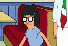 Funny pictures about Not So Awkward Dancing Tina. Oh, and cool pics about Not So Awkward Dancing Tina. Also, Not So Awkward Dancing Tina photos. Funny Signs, Funny Memes, Hilarious, Jimmy Junior, Tina Belcher, Little Girl Dancing, Gifs, American Dad, Nerd Love