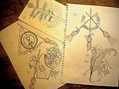 Resultado de imagem para old school Harry Potter tattoos