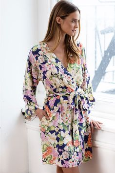 7d69312acb06 Bridal party robe for your big day and every weekend after! Bridal Party  Pajamas