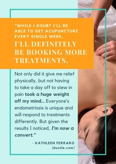 Will acupuncture work for endometriosis? Why not give it a try :) #Acupunctureforpain #AcupunctureWorks #Acupuncturebenefits Endometriosis Symptoms, Acupuncture Benefits, Herbal Tinctures, Traditional Chinese Medicine, Body Systems, I Tried, Disorders, Give It To Me