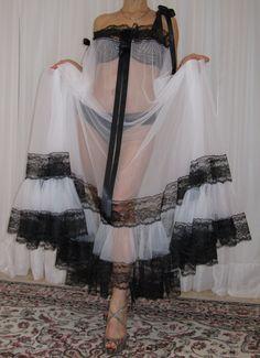 Sheer Lingerie, Plus Size Lingerie, Vintage Lingerie, Women Lingerie, Nylons, Chiffon, Plus Size Vintage, Satin, Nightwear