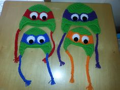 Get your little one ready for colder weather in one of these TMNT hats! Infant size fits newborn to 6 months. Handmade from acrylic yarn in a smoke-free home. Ships in business days. Crochet Animal Hats, Crochet Hats, Crochet For Boys, Free Crochet, Ninja Turtle Hat, Baby Cocoon Pattern, Kids Daycare, Teenage Mutant Ninja Turtles, Knitting Ideas