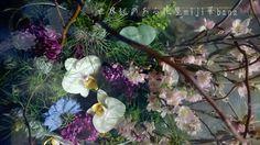 florist   世界観のある花屋 miji華bana ミジカバナ flower  桜アレンジ 胡蝶蘭 御祝 広島花屋 Hiroshima japan cool bouquet arrangement 植物 mijikabana