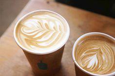 Latte (H) // Blue Bottle Coffee // Hayes Valley // San Francisco // California #bluebottlecoffee #hayesvalley #sanfrancisco #sf #california #olympus #vsco #latte #coffee by jess.cey