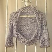 Nicely Neutral Sweater Shrug - via @Craftsy make this in a finer thread weight and it is even more beautiful!