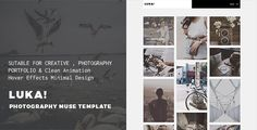 LUKA - Creative Multi-Purpose Muse Template