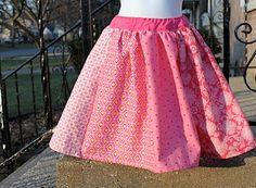 Twirl Skirt Tutorial and a Cheat (shhhh!)