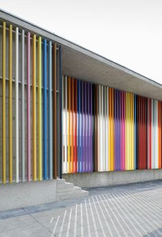 colourful timber cladding - Google Search