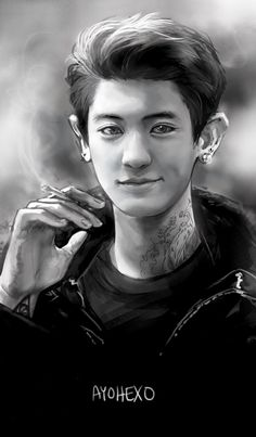 Chanyeol EXO. This is cool!