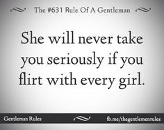 There is a difference between flirting and being nice. Flirting means you have the intention of possibly taking it to another level. But this is one area I am learning to control.  Certain things I thought were being nice offended the girls I was with. But I never knew. Women, guys are fools. And need to be told if something bugs you. Yes it's that simple. .