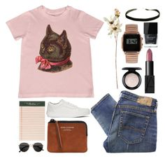 """#553"" by soja-nirvana ❤ liked on Polyvore featuring Denim & Supply by Ralph Lauren, Rifle Paper Co, Vans, Acne Studios, H&M, NARS Cosmetics, MAC Cosmetics, Coach House, ASOS and Butter London"