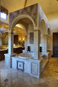 3. Rancho Retreat - traditional - bathroom - san diego - Elevation Architectural Studios