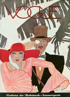 July 1928 - You'll Love These Illustrated Vintage 'Vogue' Covers - Photos
