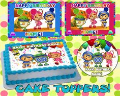 Personalized Team Umizoomi edible cake or by Pictures4Cakes