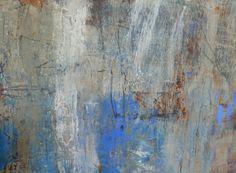 "Allison B. Cooke detail Homage 30"" x 30"" oil/mixed media"