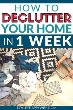 Organizing Your Home, Organizing Clutter, Clutter Solutions, Life Organization, Organisation Ideas, Declutter Your Life, Clutter Free Home, Clean House, Simple House