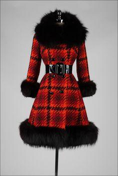 Coat Lilli Ann, 1960s Mill Street Vintage