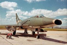 F-100D, Grand Forks AFB, ND , Auguist, 1968