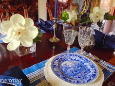 Tablescape Tuesday: Magnolias in May | Everyday Living