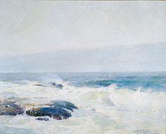 The Athenaeum - Surf Breaking (Emil (Soren Emil) Carlsen - )