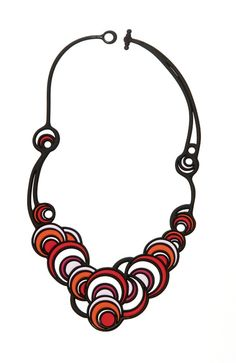Batucada Dancing Circles Necklace