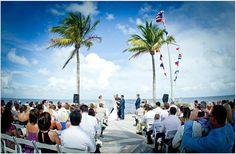 Ceremony location at Ocean Reef