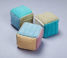 Loom Knit Blocks- Martha Stewart for Lion Brand Yarn