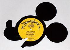 disney art made from vinyl records
