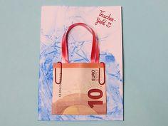 Geldgeschenk Karte basteln