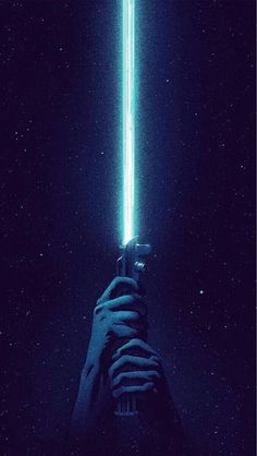 Wallpaper Android - Blue Lightsaber iPhone 6 / 6 Plus wallpaper Movie Wallpapers, Blue Wallpapers, Cool Wallpapers Star Wars, Wallpapers Android, Star Wars Film, Star Wars Art, Rey Star Wars, Star Wars Poster, Star Trek