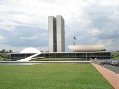 Congresso Nacional - Brasilia - Distrito Federal - Brasil
