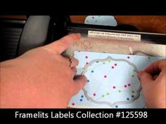 Make your own flip-its cards using stamping up framelits dies - must watch this tutorial!