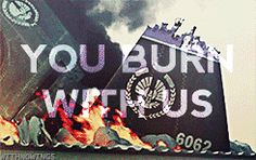 You Burn With Us!