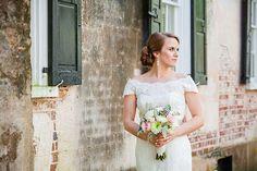 I love this bride's solo shot! Dana Cubbage did a fabulous job capturing her beauty! - Coordinators: Mac & B. Events Photographer: Dana Cubbage Flowers: Diane Thrower