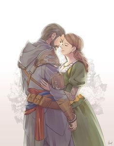 [ACR] Happily Ever After by Hinoe-0 on DeviantArt. I WILL GO DOWN WITH THIS SHIP.