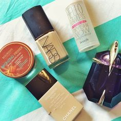 Five products that I will forever repurchase!  #NARS #BOURJOIS # CHANEL #BENEFIT #BRONZE #FOUNDATION #MAKEUP #LOVE #ALIEN