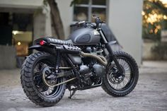 Triumph Bonneville Scrambler by Rajputana Custom Motorcycles built for Triumph Motorcycles India