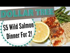 $5 Healthy Dollar Tree Dinner for Two! 300 calories, 28g protein, 5 fat, 40 carbs! - YouTube