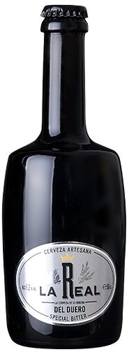 LA REAL SPECIAL BITTER Denominación popular inglesa, desde el siglo XIX, para algunas cervezas de alta fermentación tipo Pale Ale y vol. alcohólico alto. De color marrón cobrizo con una espuma blanca persistente, tiene aromas de fruta madura y herbáceos debido a la malta y al lúpulo respectivamente. De cuerpo medio y baja carbonatación, presenta un gusto amargo con notas tardías de malta. ºP 15. / 6´2% Vol. http://www.rqrcom.com/larealweb/