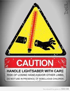 Light Saber Safety