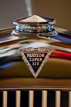 1929 Hudson Cabriolet Hood Ornament - Emblem 2 by Jill Reger