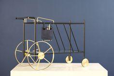 12 Favorite Bar Carts & Trolleys  |   'Chariot' by David Nicolas.