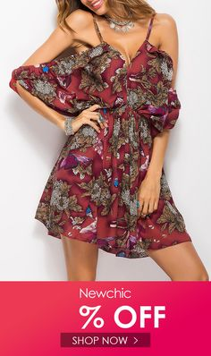 Middle East Floral Pure Color Cold Shoulder Spaghetti Strap Sexy Dresses is high-quality, see other cheap summer dresses on NewChic. Cheap Summer Dresses, Beautiful Summer Dresses, Summer Dress Outfits, Summer Dresses For Women, Pretty Dresses, Tight Dresses, Sexy Dresses, Woman Dresses, Chic Dress