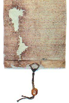 The Magna Carta is the basis for most Western common law, the Declaration of Independence and US Constitution. The MC was formed in 1215 in response to abuses by the King. There were 37clauses - 3 still in force, incl. the right of Habeus Corpus & against forced self-incrimination. In 2005 George W. Bush eliminated Habeus Corpus, esp for non-citizens, breaking a 900 year legal tradition. 4 original copies still exist - 1 was on loan to the US but England took it back to protest his actions.