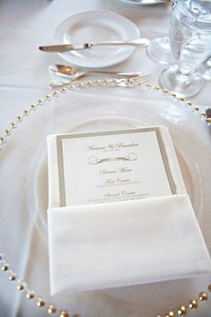 Gold-White-Wedding-Place-Setting