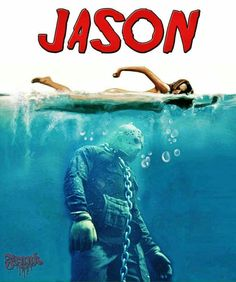 Jason Voorhees - Friday the 13h- jaws