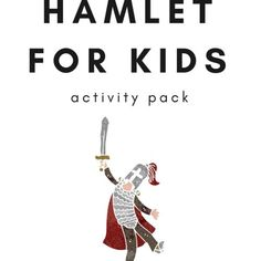 This printable activity pack includes Hamlet writing